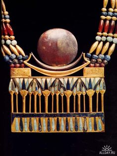 Ancient Egypt Jewellry. Part of Necklace.