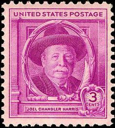 *JOEL CHANDLER HARRIS ~ (Author of Uncle Remus Books) United States of America postal Stamp