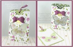 Floral Wings by Tootsy - Cards and Paper Crafts at Splitcoaststampers
