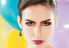 Color block, maquillaje de tendencia