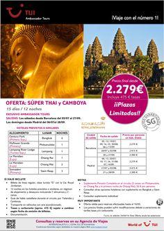 ¡Salidas Garantizadas! Oferta: Súper Thai y Camboya 15 días/12 noches ¡¡Precio final desde 2.279€!! ultimo minuto - http://zocotours.com/salidas-garantizadas-oferta-super-thai-y-camboya-15-dias12-noches-precio-final-desde-2-279e-ultimo-minuto-3/