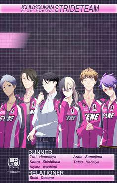 Ichijyoukan Stride Team | Prince of Stride: Alternative #anime