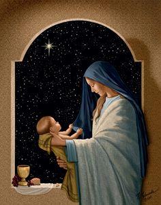 """Sacred Communion"" by Nellie Edwards"