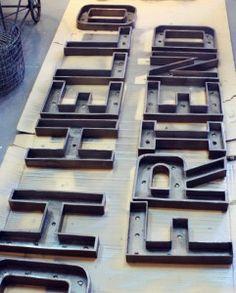 tipografías de carton