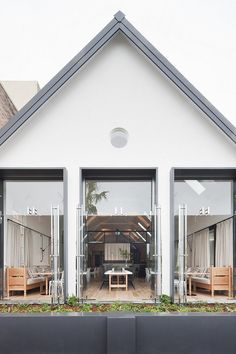 The Old Library (re-incarnation as a restaurant in Cronulla, a suburb of Sydney, Australia) by Hecker Guthrie