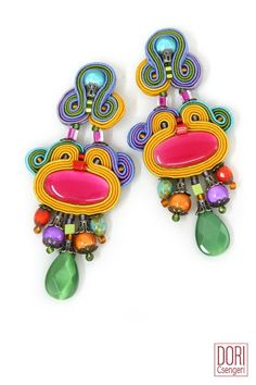 Euphoria colorful earrings. #colors #earrings #fashion #Accessories #Jewelry