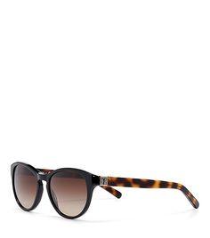 Tory Burch T-Print Cat-Eye Sunglasses
