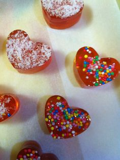 Toffee hearts