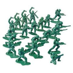 Army Men Toy Soldiers (144 Pack)