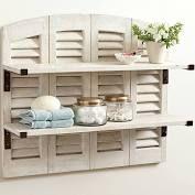 Ballard Designs Shutter Shelf