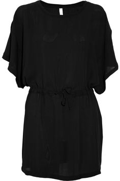 This is something I'd actually wear high heels for. >> OAK  Georgette kimono dress
