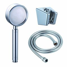 Water Saving Shower Head, Shower Head With Hose, Shower Hose, Shower Heads, Hand Held Shower, Save Water, Space, Amazon, Simple