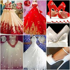 My Dress is 1st what about you? #PartyDress #BridalDress #Shoes #Heels #Fashion #Fashion2017