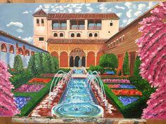 El Generalife La Alhambra de Granada