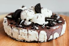 Vegan Oreo Ice Cream Cake