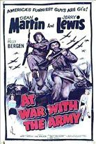 At War With the Army (1950). Starring: Dean Martin, Jerry Lewis and Polly Bergen