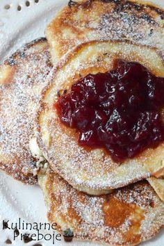 Placuszki z serka wiejskiego I Want To Eat, Macarons, Cupcake Cakes, French Toast, Pancakes, Yummy Food, Meals, Cooking, Breakfast