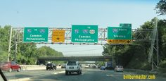 Interstate New Jersey Lanes End, Highway Road, Street Signs, New Jersey, Road Trip, Usa, News, Places, Green