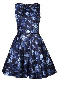 Closet - Robe de soirée - navy floral