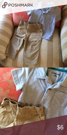 Toddler boys outfit. Cherokee and Circo. Bundle and save! Cherokee Matching Sets