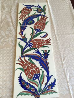 Pano Turkish Art, Turkish Tiles, Islamic Tiles, Islamic Art, Islamic Patterns, Tile Patterns, Hand Painted Dress, Ottoman Design, Embroidery Works