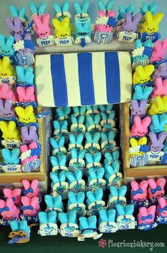 Penn State Peeps! Beaver Stadium made out of peeps...check out JoePa at the top looking over everyone!