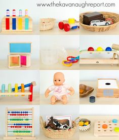 The Kavanaugh Report: Montessori Inspired Toys 13 to 16 Months