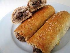 """En verden af smag!: """"Pølsehorn"""" med Krydret Oksekød"""
