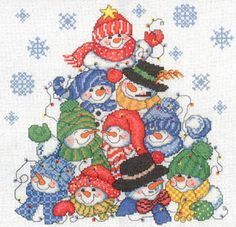 Dimensions Cross Stitch Patterns Free | winter cross stitch patterns kits the four seasons cross stitch