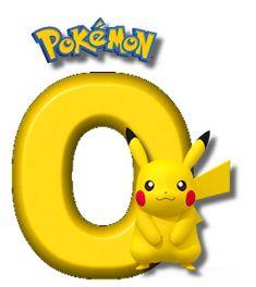 Abecedario de Pikachu de Pokémon. Pikachu Alphabet. Lion Birthday, Dragon Birthday, Pokemon Birthday, Brother Birthday, Pokemon Gengar, 150 Pokemon, Charmander, Pokemon Letters, Disney Letters