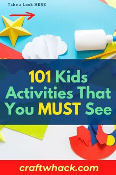 Here's a book of kid's activities that you must see today! Flip through the pages of the book and immediately see thing after thing you want to do with your kids. If you are inspired to do some projects with your kids, check out this pin for more details. #kidsactivities # Crafts For Kids To Make, Art For Kids, Fun Activities For Kids, Done With You, Diy Crafts, Arts And Crafts, You Must, Writing A Book, Fun Projects