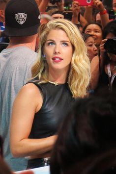 Emily #Arrow #SDCC 2015 #CWSDCC