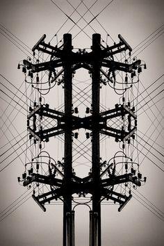 Power Lines by Matthew Lacroix, via 500px