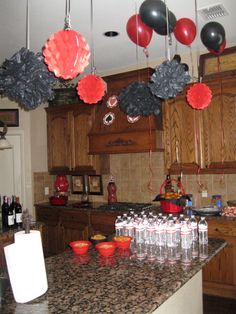 Casino party decoration ideas