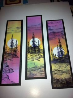 New art projects for middle schoolers canvases Ideas <br> Middle School Art Projects, Middle School Crafts, School Ideas, 8th Grade Art, Winter Art Projects, Art Club Projects, Creation Art, Watercolor Projects, Watercolor Bookmarks