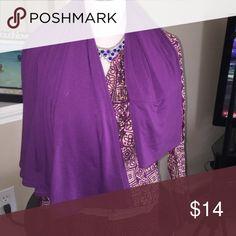 Purple maxi skirt Like new Skirts Maxi