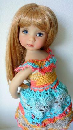 Добрый день! Сегодня я покажу снова одну из своих красавиц от Дианы Эффнер, но уже в новом и первом наряде