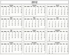 2009+Calendar+Printable