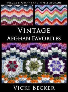 Vintage Afghan Favorites Granny and Ripple Afghans by Vicki Becker http://www.amazon.com/gp/product/B00FI6K1ZU/ref=as_li_tl?ie=UTF8&camp=1789&creative=390957&creativeASIN=B00FI6K1ZU&linkCode=as2&tag=bountifulfarm-20&linkId=VDDLV6V3PCGOK5HG
