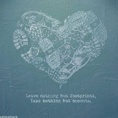 Leave nothing but footprints by Celmaitare , via Behance Footprints, Studios, Behance, Leaves, Words, Quotes, Blog, Life, Quotations