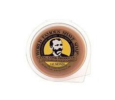 Col. Conk's glycerin save soap puck is so compact, you'll hardly notice the space it takes up in your pack!