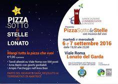 Pizza Sotto le Stelle 6-7 settembre Lonato del Garda (BS)