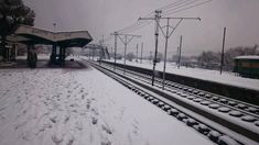 Snowy Quetta Railway Station and the beauty of Quetta. and trains by Pakistan Railways Pakistan Railways, Train Journey, Extreme Weather, Empty, Snow, Trains, Outdoor, Outdoors, Outdoor Games