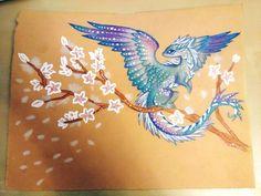 Azure Sakura Dragon