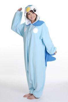 Pokemon Piplup Onesie Kigurumi Pajamas