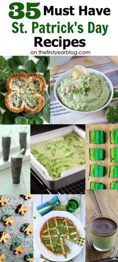 35 Must Have St. Patrick's Day Recipes | The First Year Blog