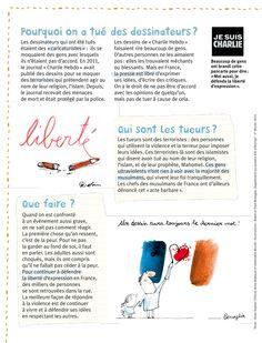 Comment parler aux enfants de l'attentat au journal Charlie Hebdo ? - Familiscope
