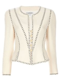 SO lovely.  The, almost, corseted effect of this jacket is just amazing.