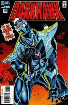 In order to go back in time to undo certain events, Darkhawk, and special guest-stars, the New Warriors, complete their mission in Chronopolis for Zarrko.