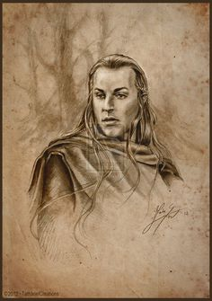 HALDIR - MARCHWARDEN OF LORIEN BY TATHARIEL CREATIONS